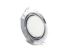 Светильник Экола gx53 серебряный
